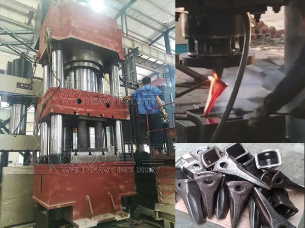 1500吨金属挤压热模锻液压机